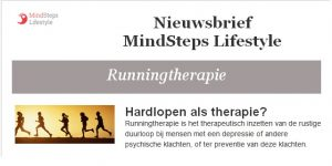 Nieuwsbrief Runningtherapie